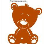 Медвежонок плоттер